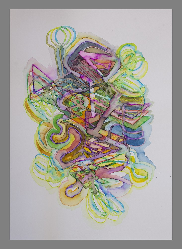 Incubus (watercolour) 2021
