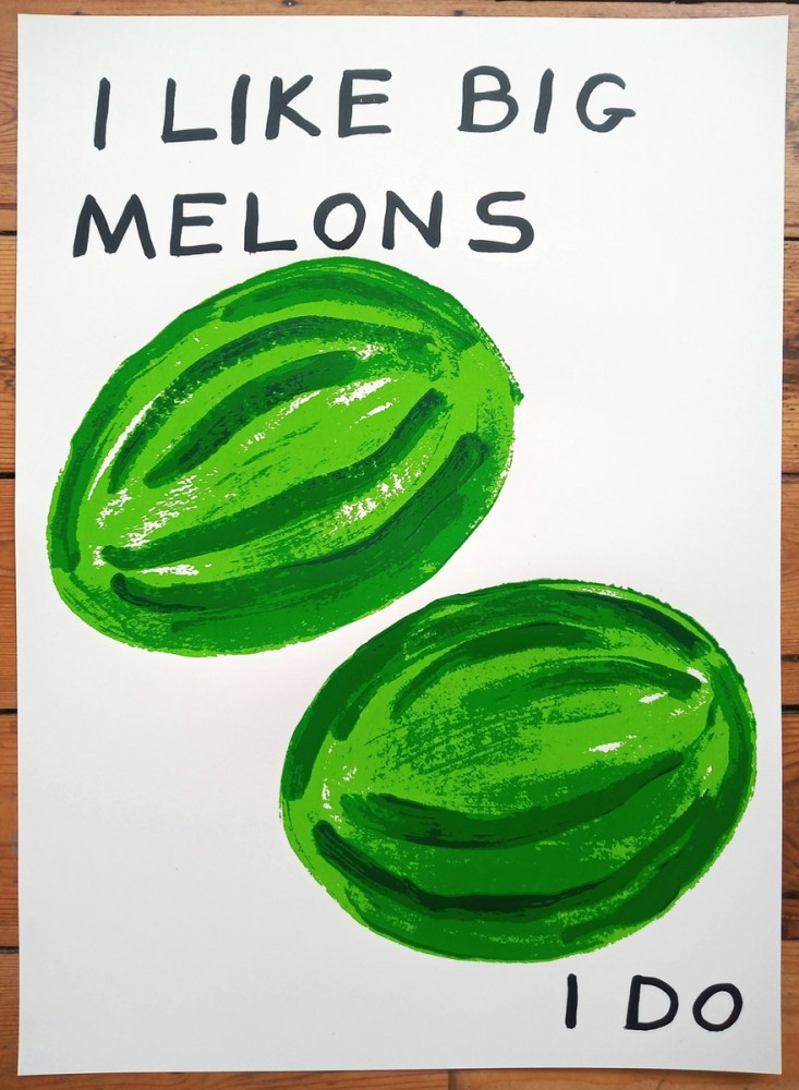 Melons limited edition screenprint
