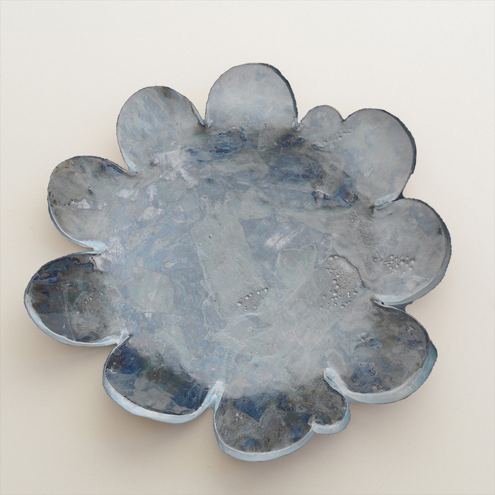 Circular Floral Plate 2020