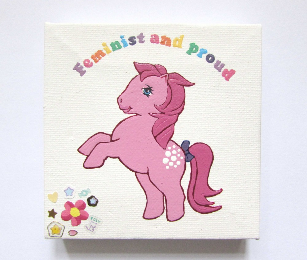 Ponies Against Patriarchy - Cotton Candy