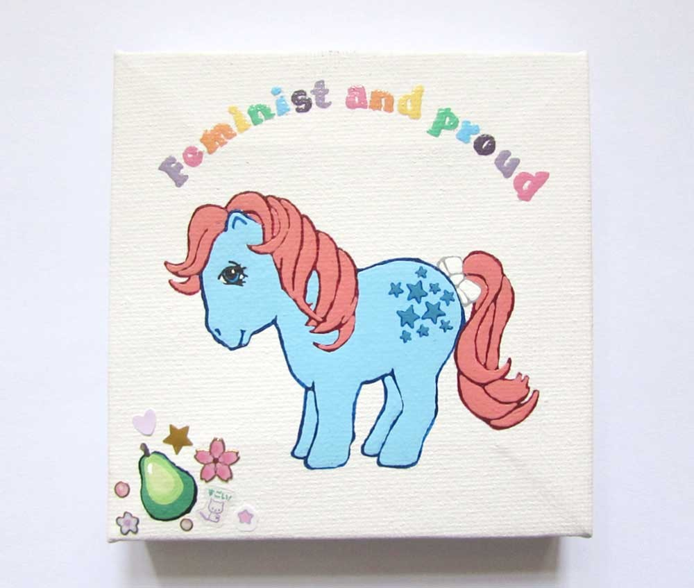 Ponies Against Patriarchy - Bluebell