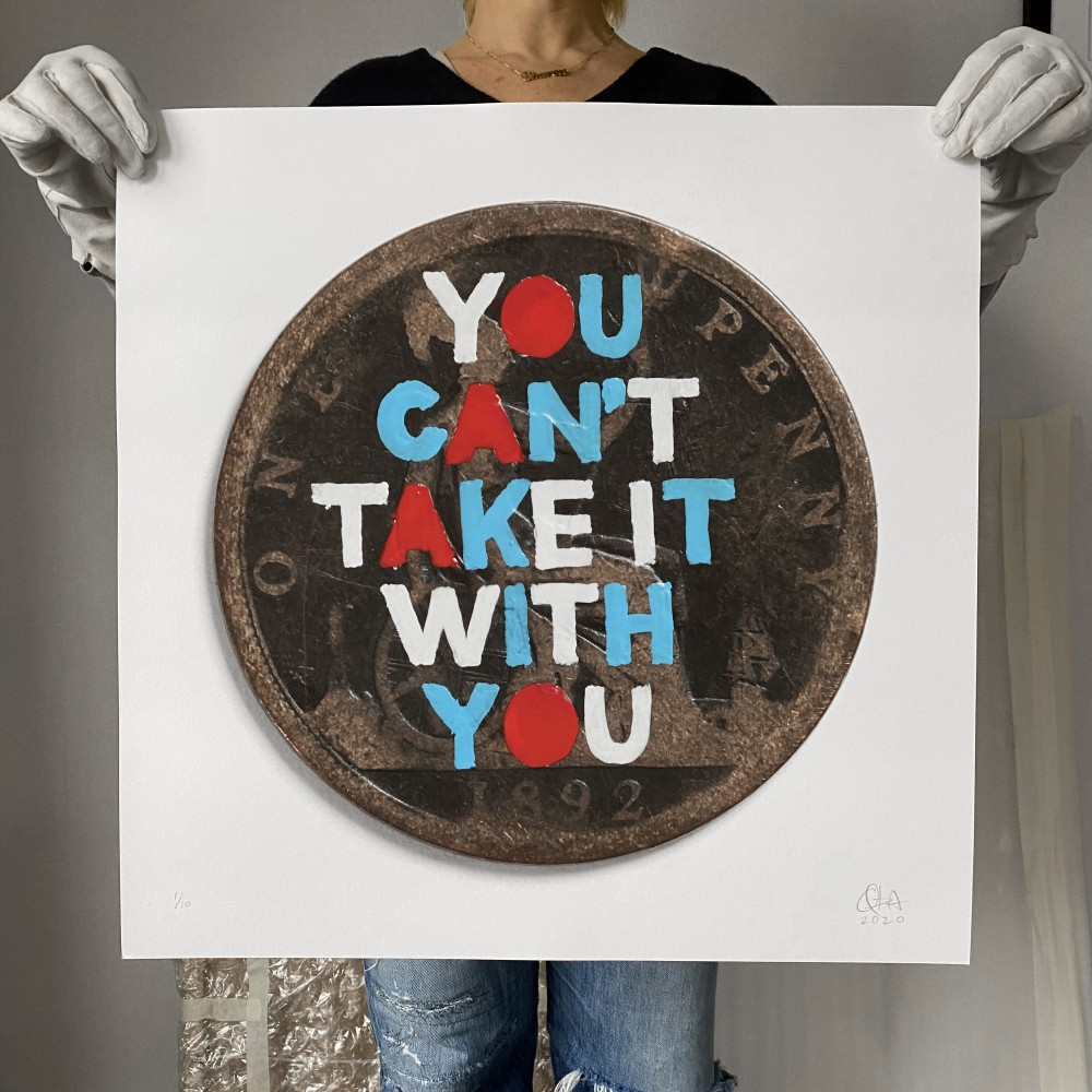 You Can't Take It With You (large print)