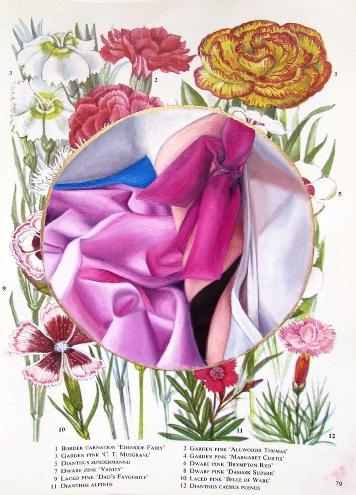 Flower Book Plate 2