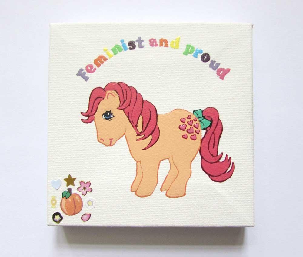 Ponies Against Patriarchy - Peachy