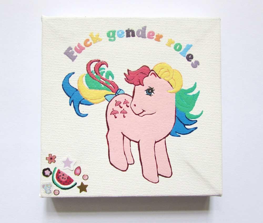Ponies Against Patriarchy - Parasol