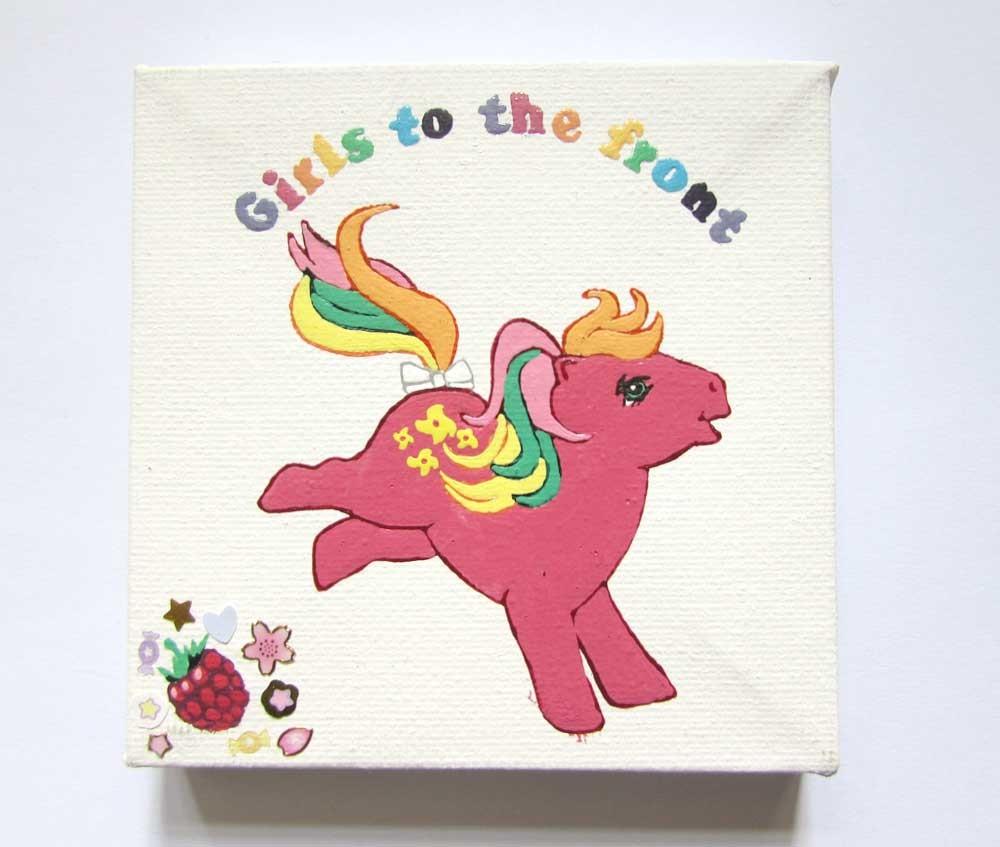 Ponies Against Patriarchy - Pinwheel