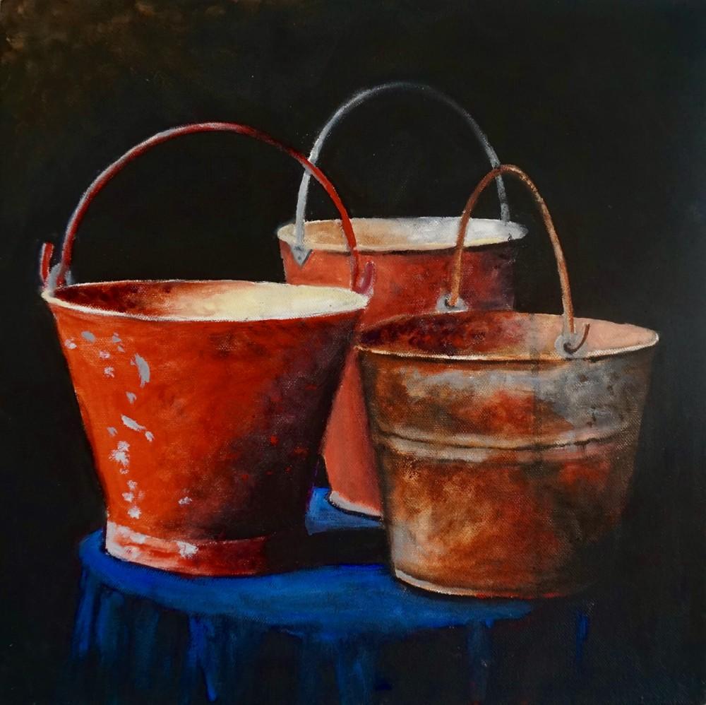 Bucket Still Life