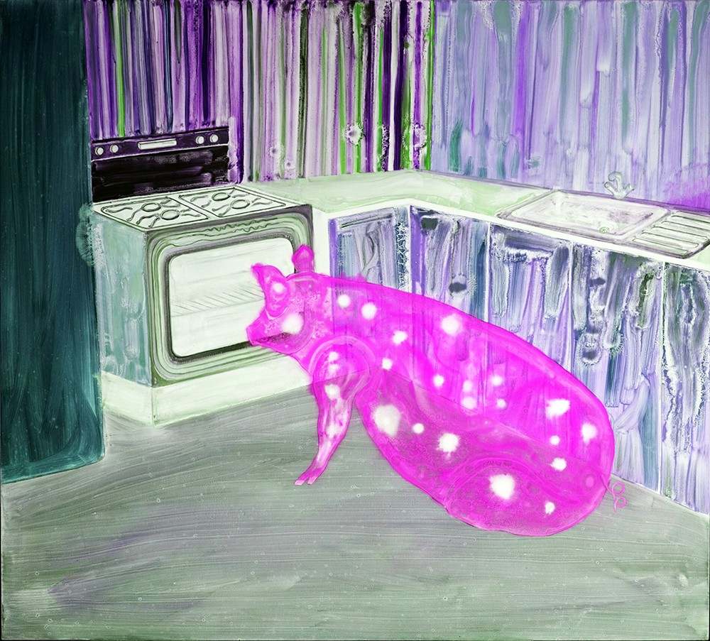 Domestic Bliss (Pink Pig)