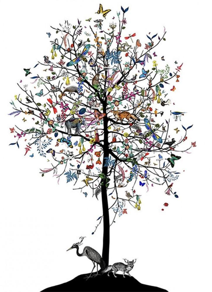 The London Aesop tree - Art Print