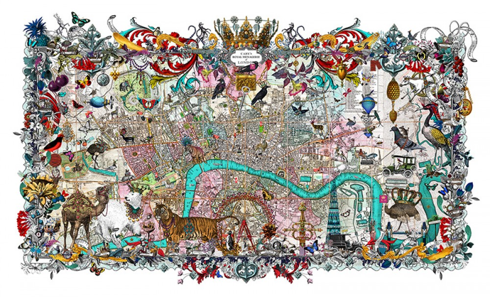 Royal Menagerie - Cary's London - Art Print