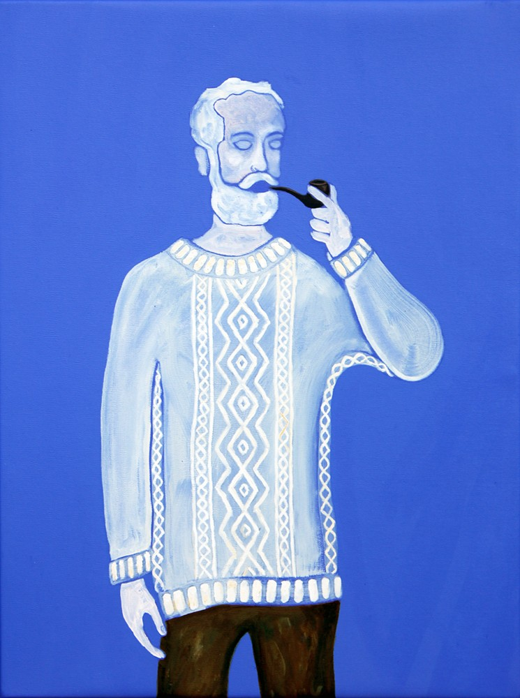 Smoker I (Man With Pipe)