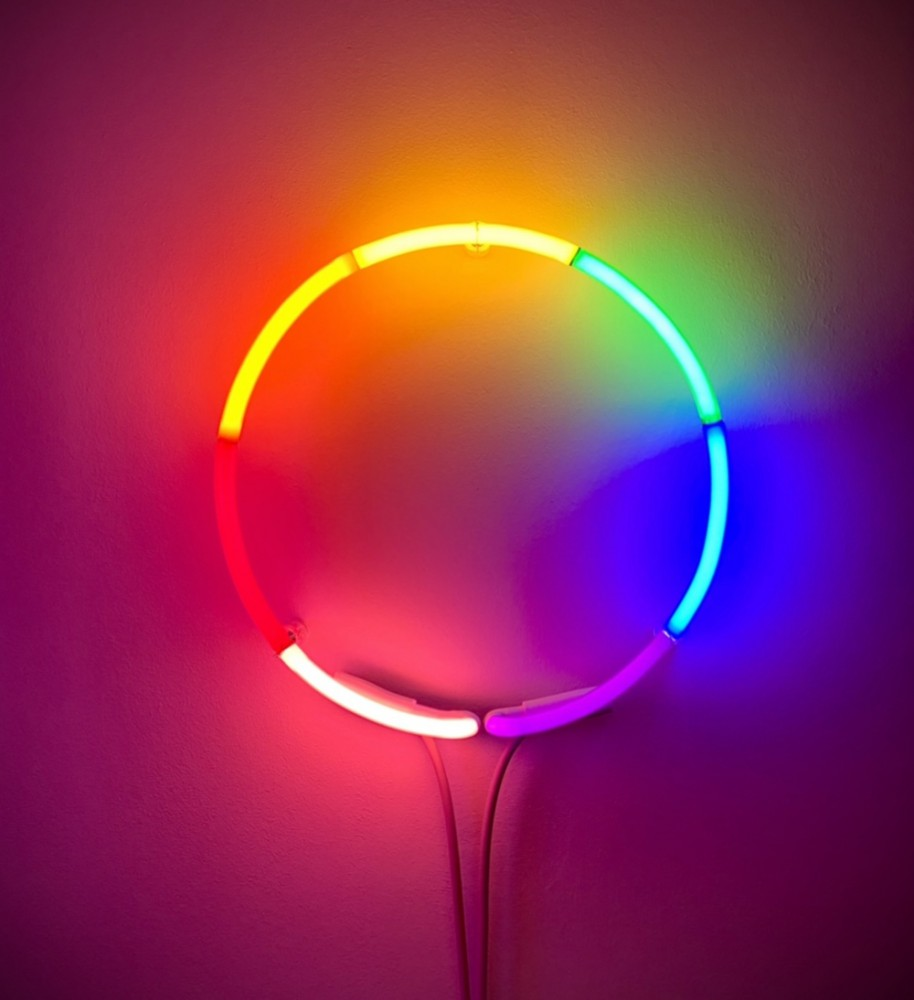 Spectrum Neon Circle, 2021