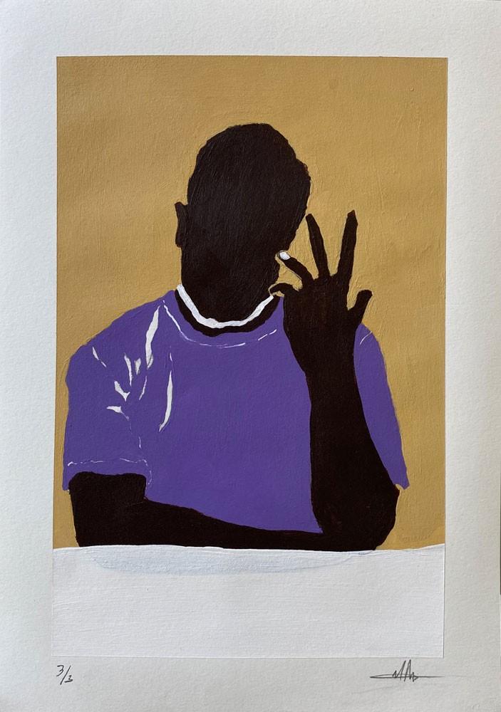 Black Man in Tee 3