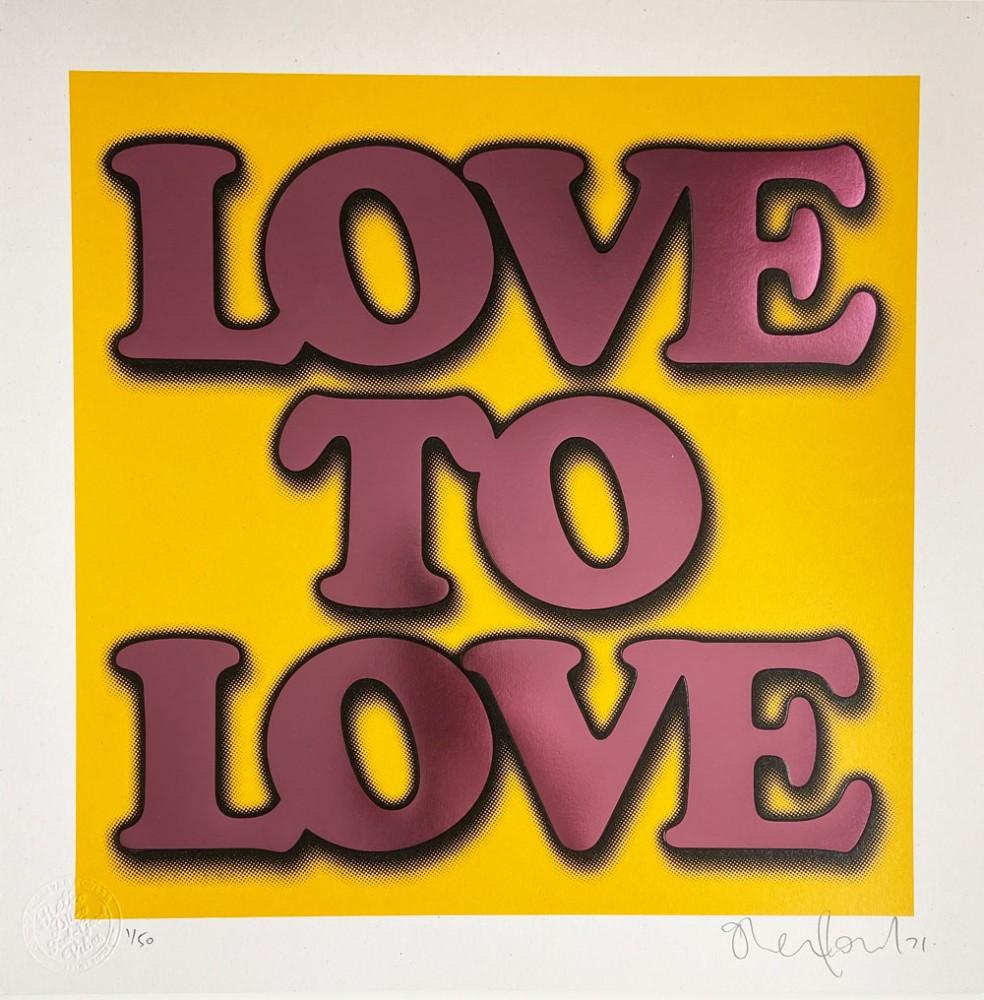 Love to Love Yellow