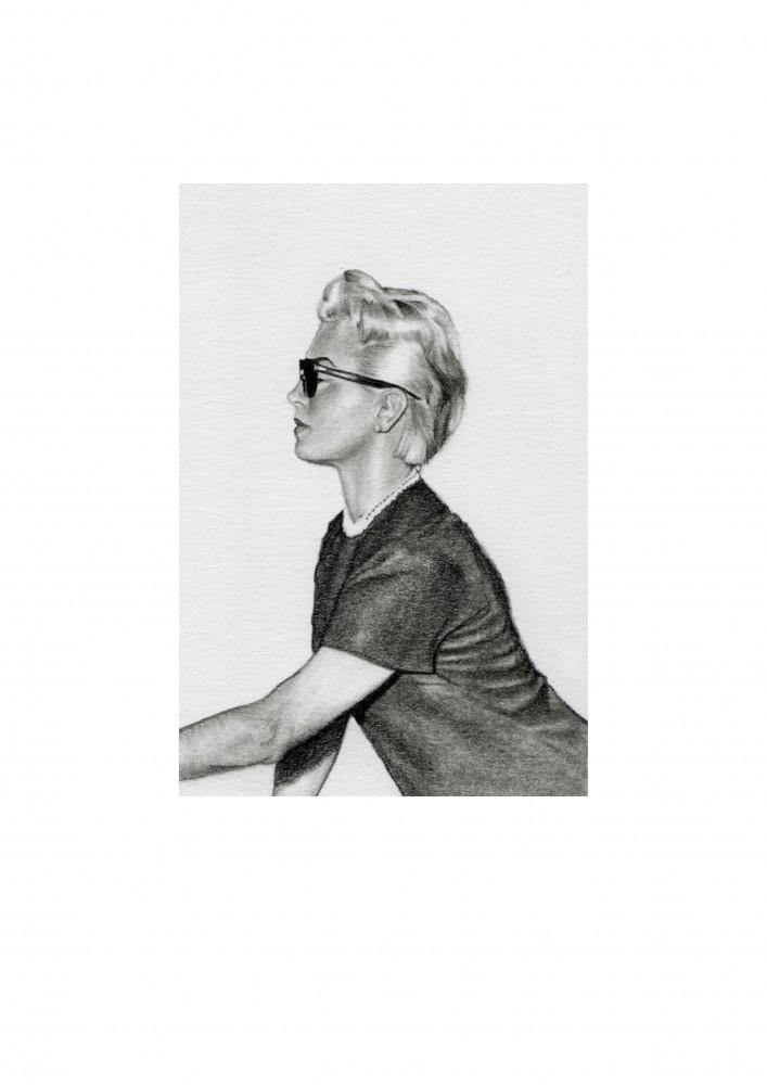 Immaculate Lana - Unframed Giclée Print