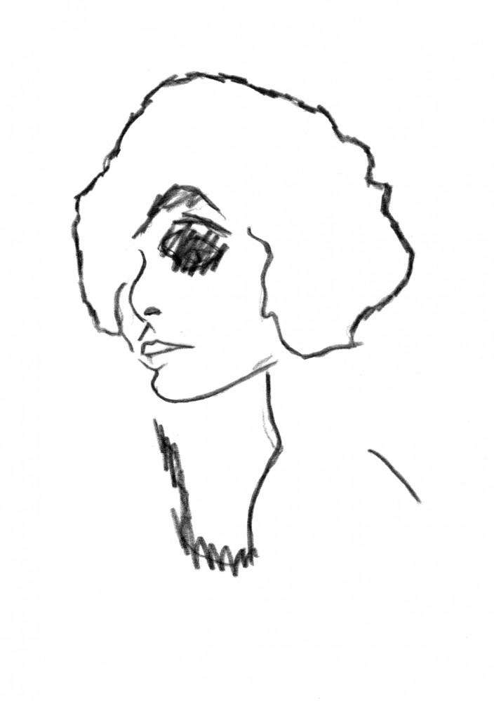 Norma - Unframed Giclée print