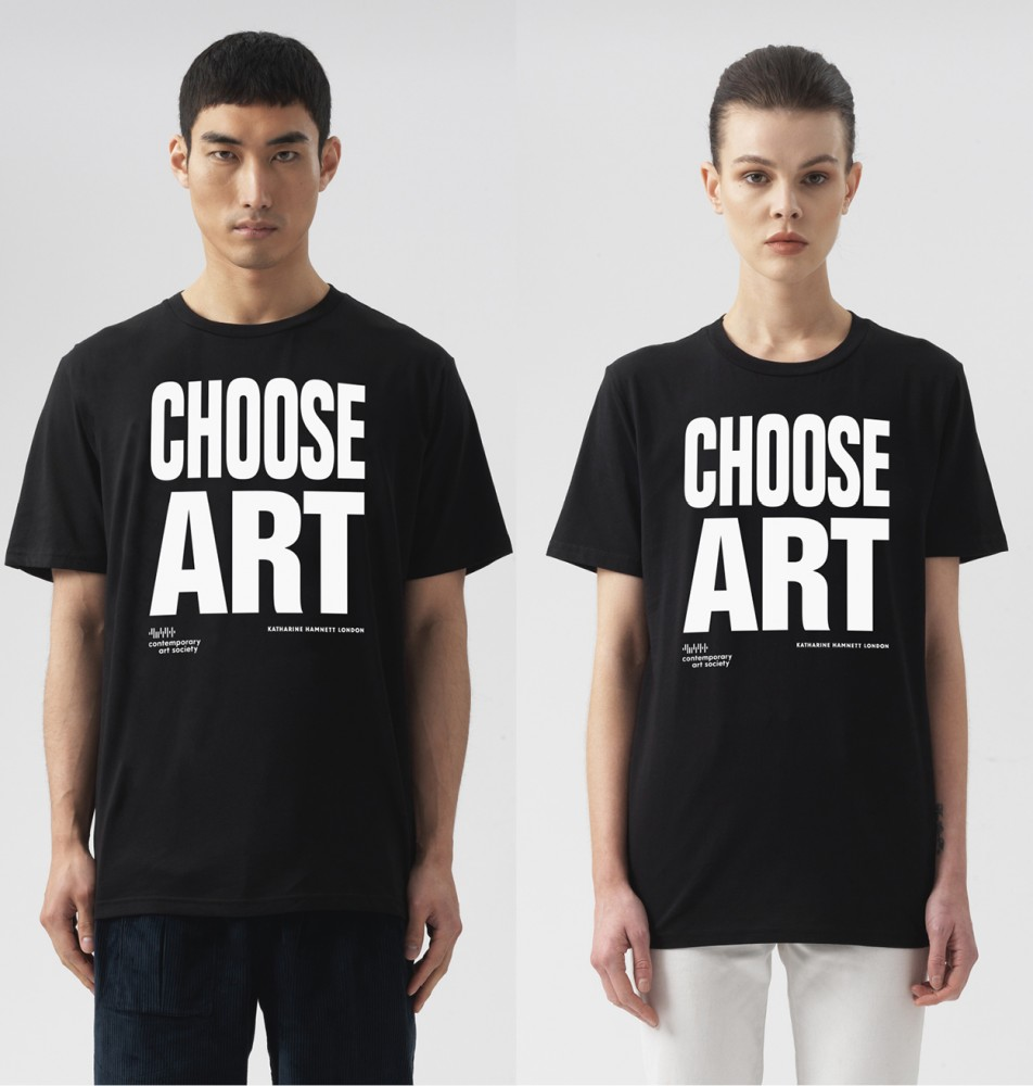 CHOOSE ART T-SHIRT - BLACK