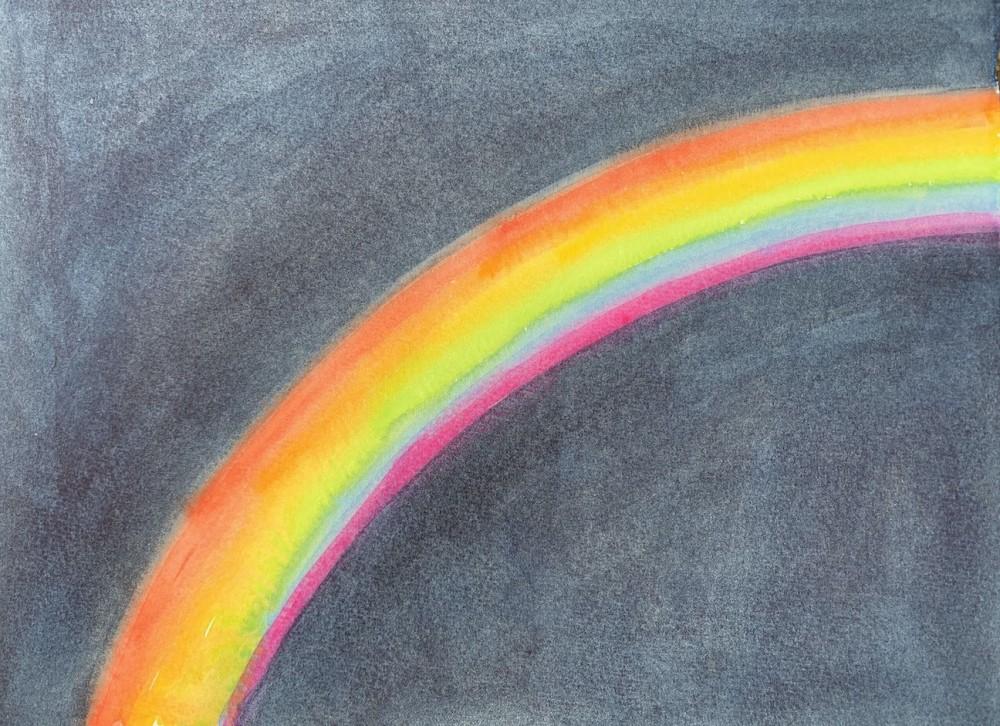 Night Time Rainbow