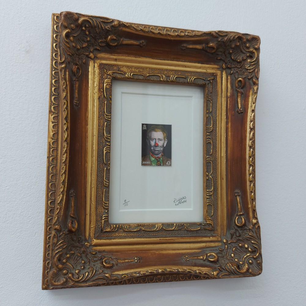 Hobo Prince Charles Gold Gilded Framed