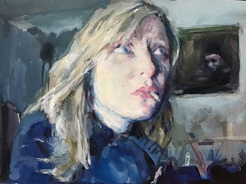 In Studio with Geraldine Swayne