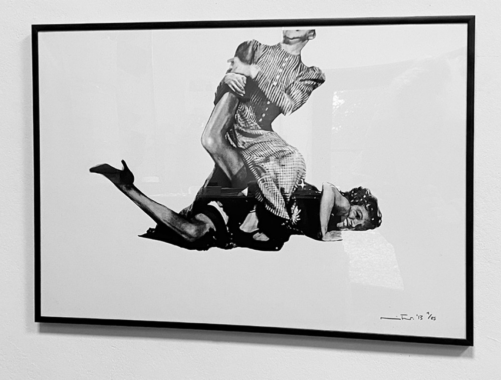 It's Just My Funny Way of Dancing: Part II - Black Framed Giclée Print
