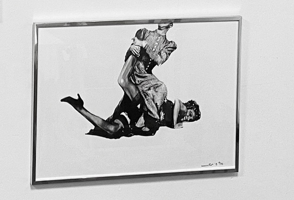 It's Just My Funny Way of Dancing: Part II - Silver Framed Giclée Print