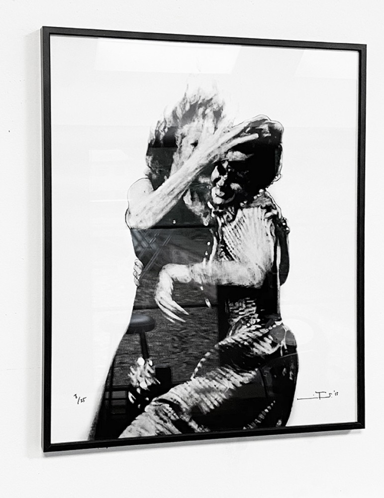 It's Just My Funny Way of Dancing: Part VII - Black Framed Giclée Print
