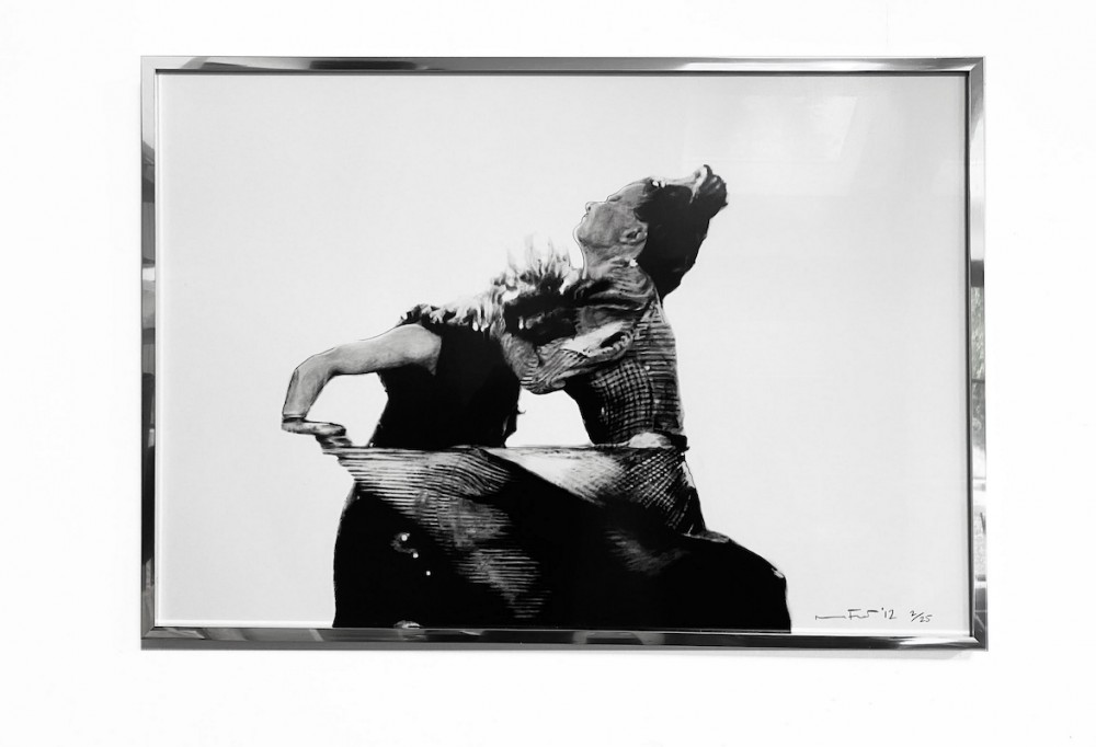 It's Just My Funny Way of Dancing: Part III - Black Framed Giclée Print