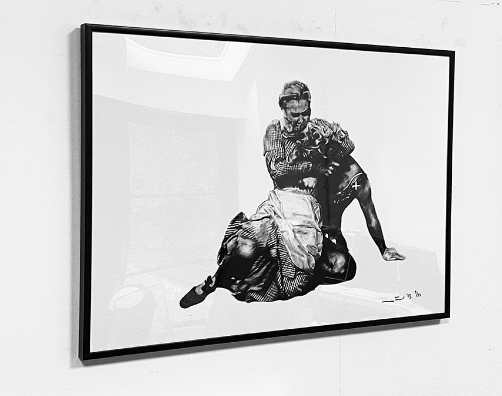 It's Just My Funny Way of Dancing: Part VIII - Black Framed Giclée Print