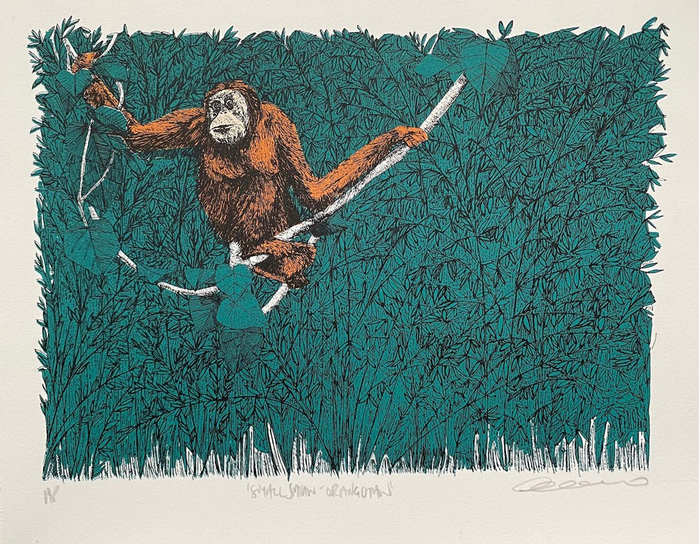 Simian Smalls - Orangutan