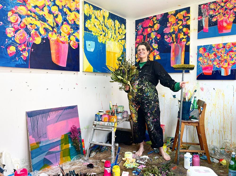 In the Garden Studio with Faye Bridgwater