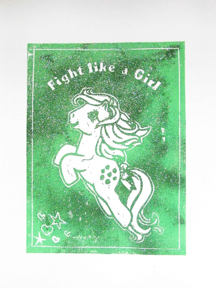 Fight Like A Girl 2021 [green]