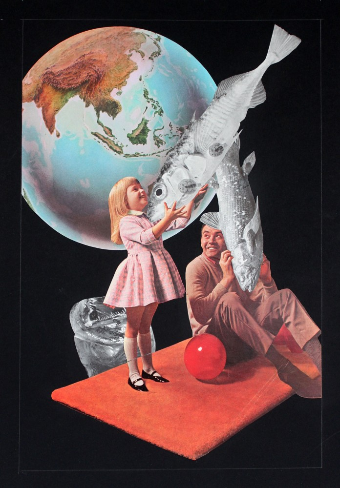 PLAYTHINGS 2021 Original Collage 29.5x42cm