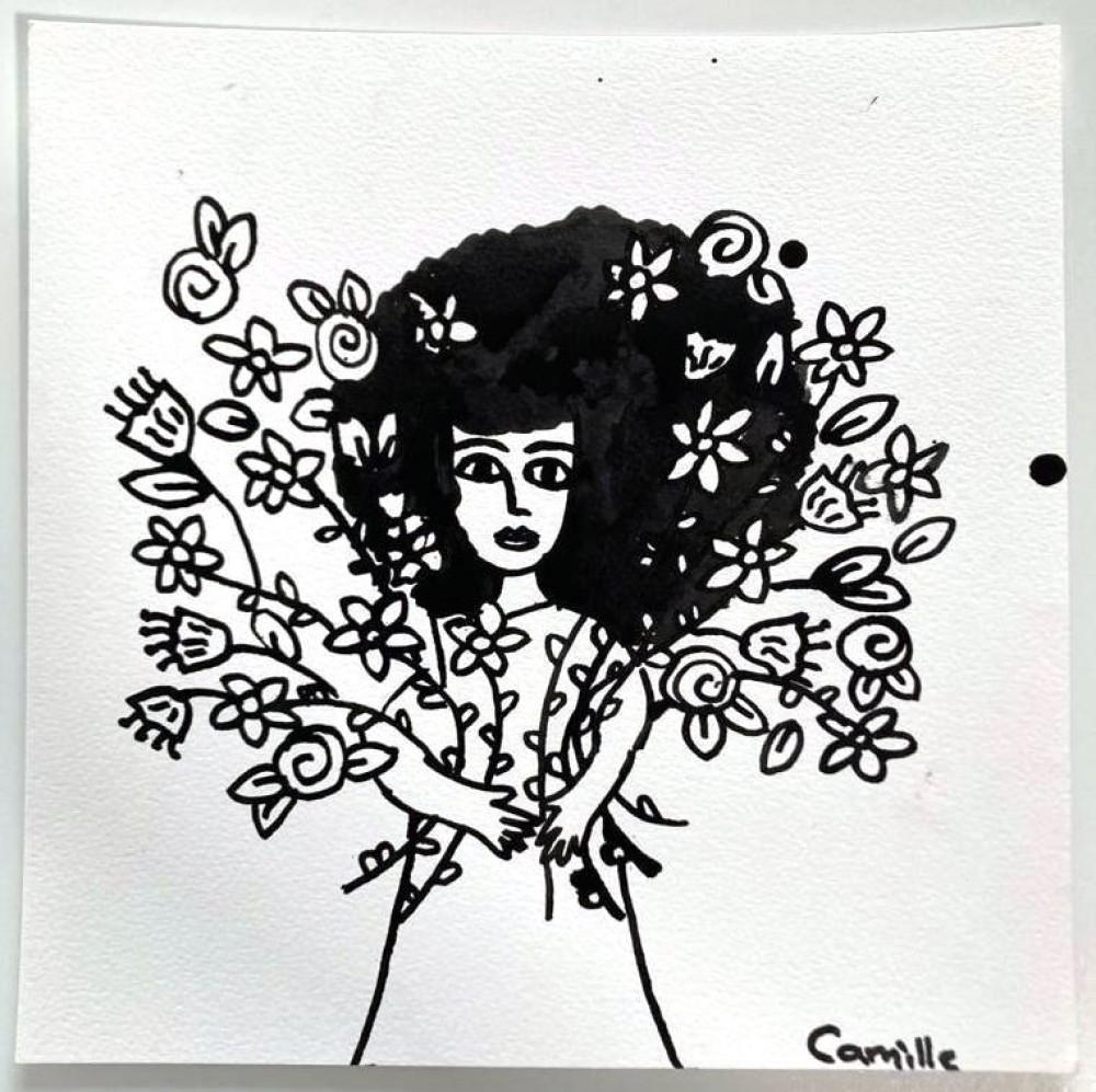 Girl & Flowers (04)