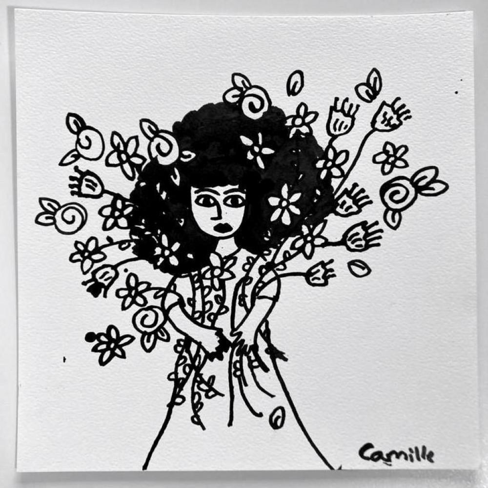 Girl & Flowers (01)