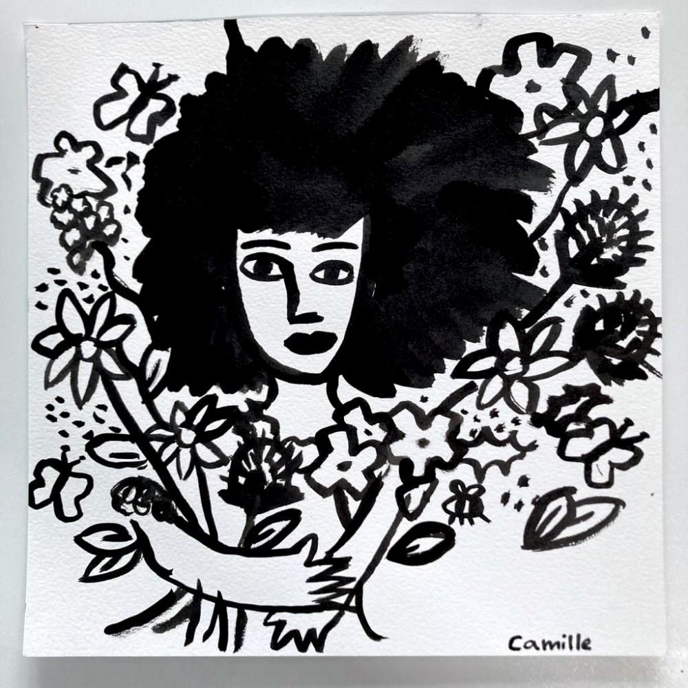 Girl & Flowers (05)