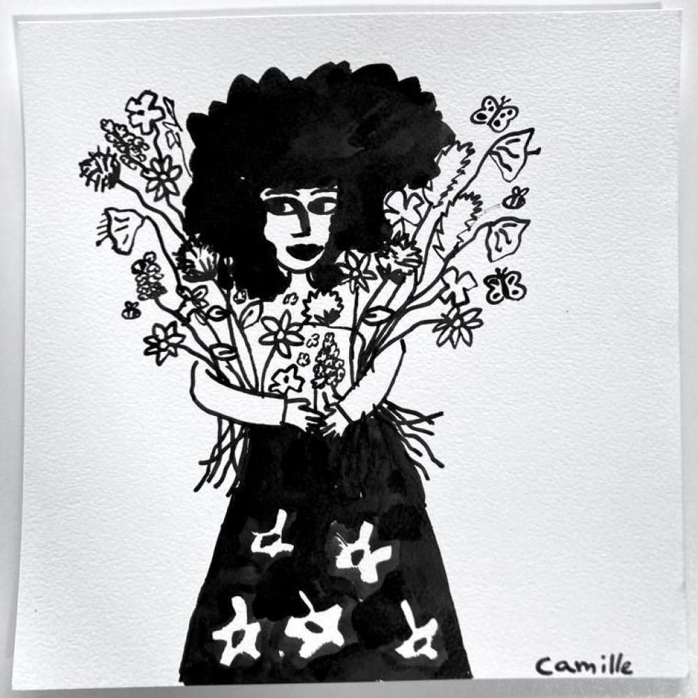 Girl & Flowers (03)