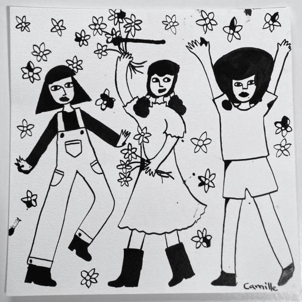 Throwing Flowers (01)