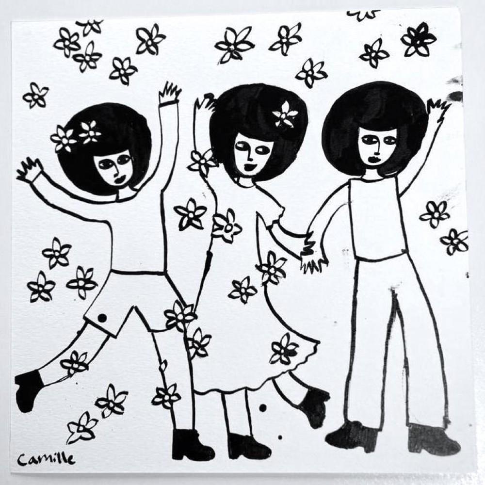 Throwing Flowers (02)