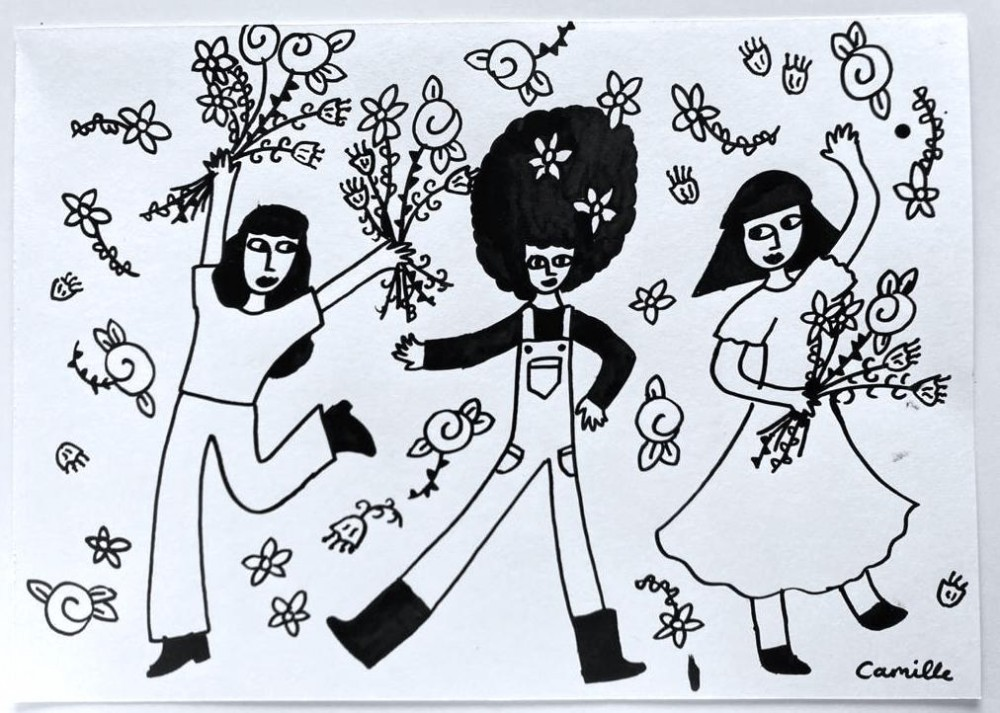 Dancing with Flowers