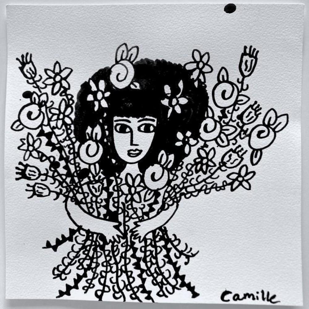 Girl & Flowers (02)