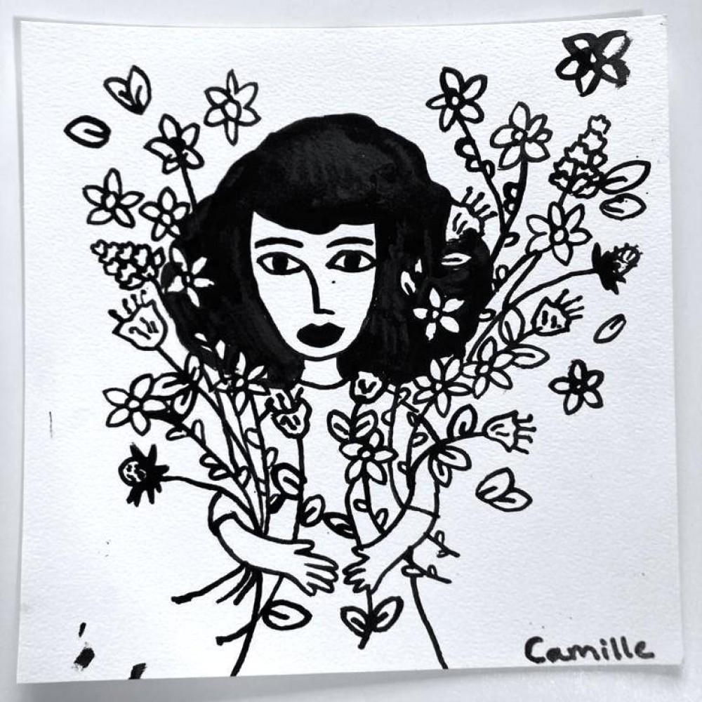 Girl & Flowers (06)
