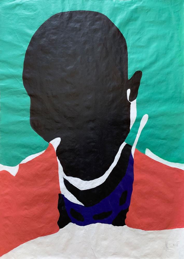 Black Male, Portrait - no. 9