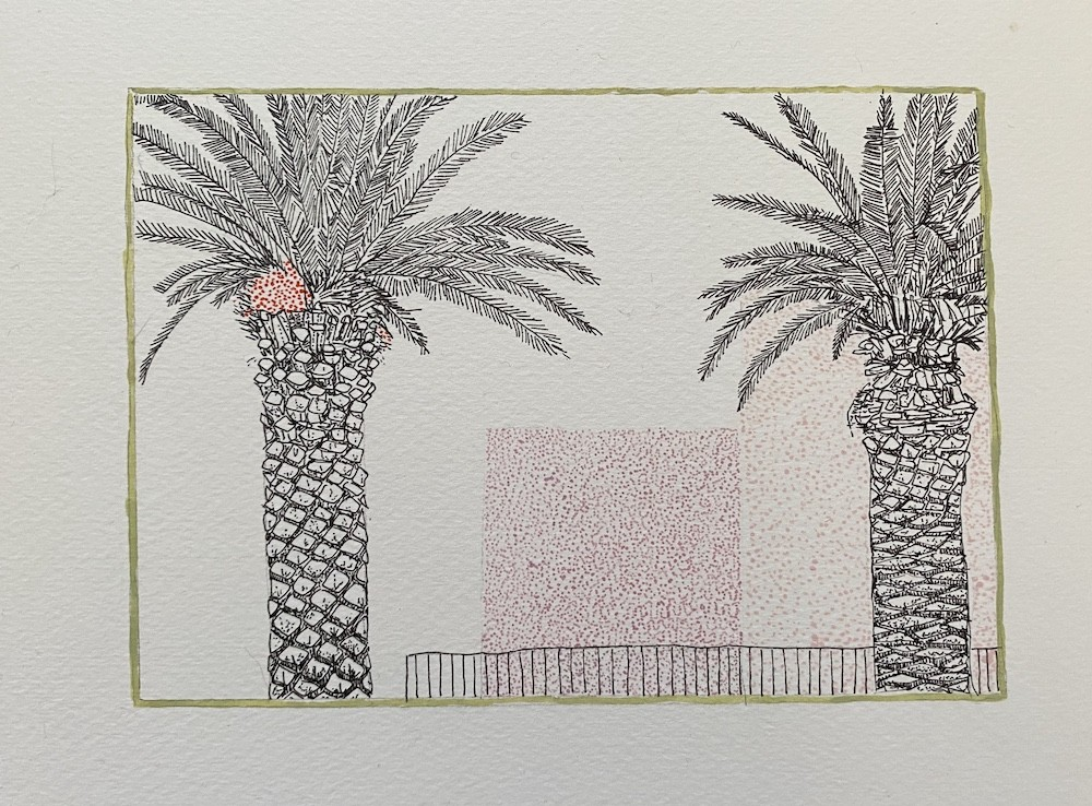Landscape Palm Study 3