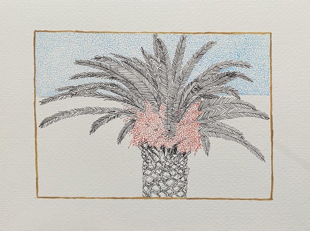 Landscape Palm Study 5