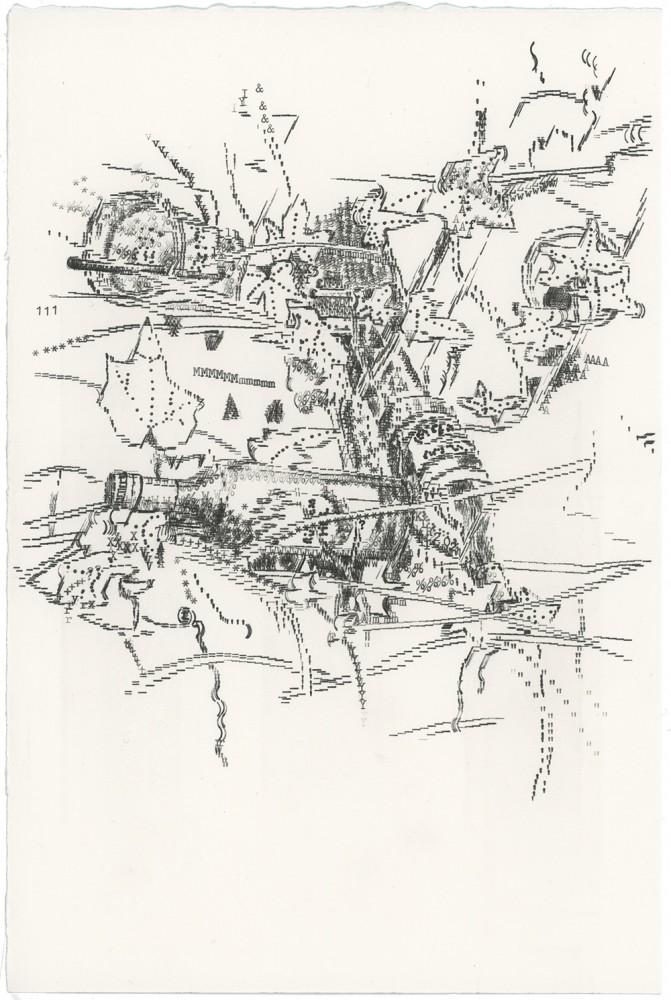 Keira Rathbone Typewriter Art - ORIGINAL Typic - Ivy & Wine