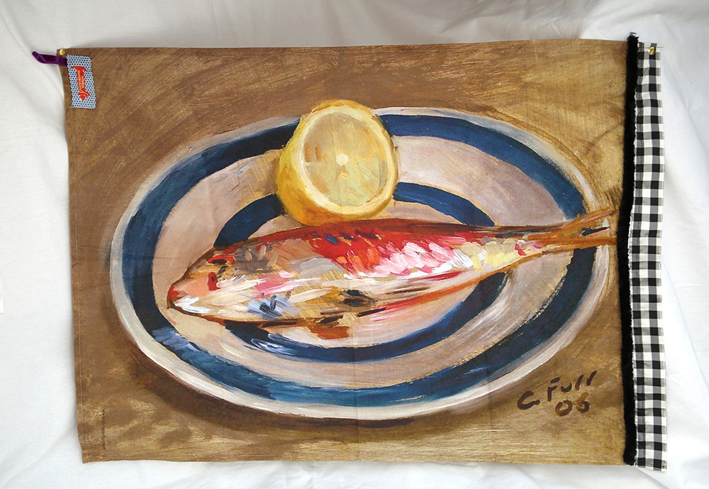 Red Mullet with Lemon
