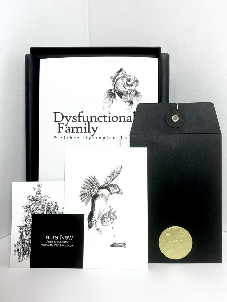 COLLECTORS LIMITED EDITION - Dysfunctional Family & Other Dystopian Tales